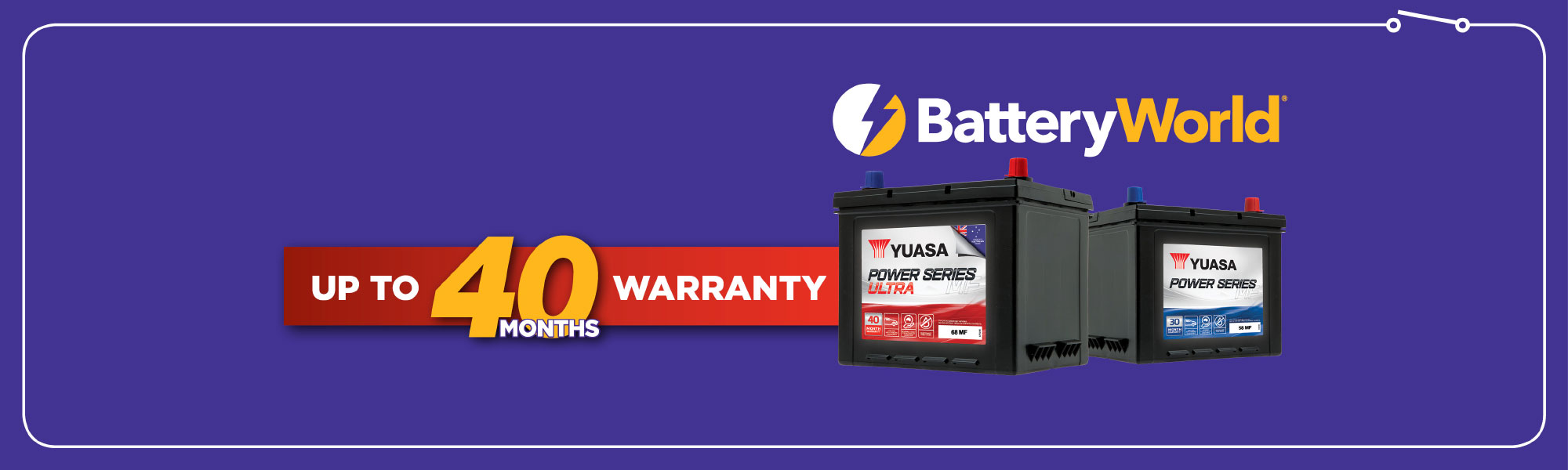 Exclusive to Battery World